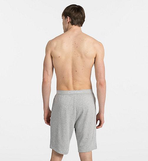 CALVINKLEIN Lounge Shorts - Heritage - HEATHER GREY - CALVIN KLEIN LOUNGE PANTS - detail image 1