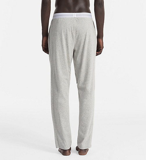 CALVINKLEIN PJ Pants - Focused Fit - HEATHER GREY - CALVIN KLEIN PYJAMA BOTTOMS - detail image 1