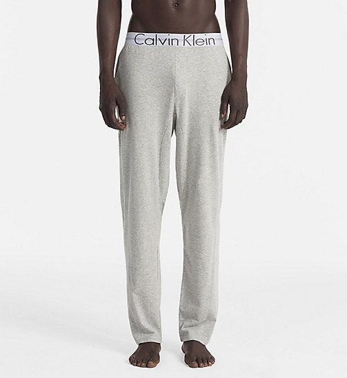 CALVINKLEIN Pantaloni PJ - Focused Fit - HEATHER GREY - CALVIN KLEIN PANTALONI PIGIAMA - immagine principale