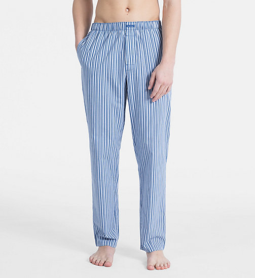 CALVIN KLEIN PJ Pants - UNION STRIPE DOWNPOUR - CALVIN KLEIN NEW FOR MEN - main image