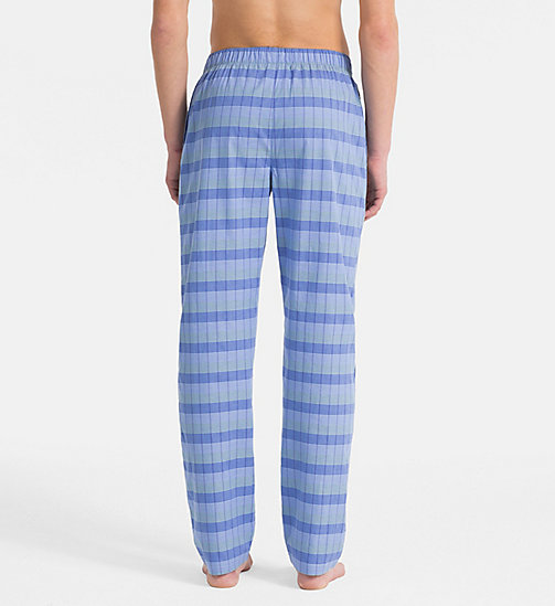 CALVINKLEIN PJ Pants - DB PLAID CAROLINA - CALVIN KLEIN UNDERWEAR - detail image 1