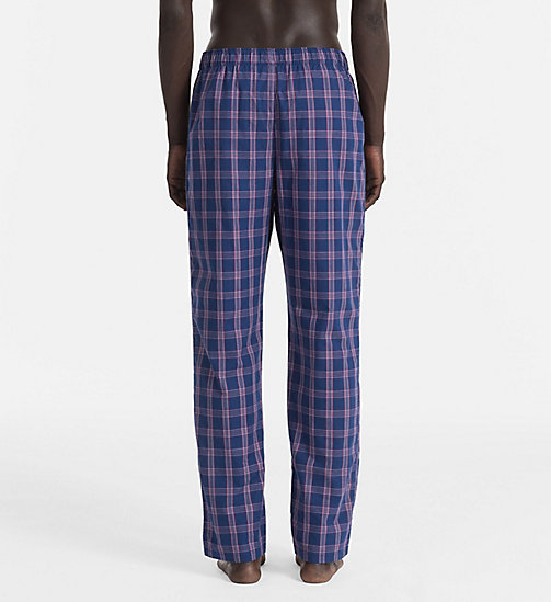 CALVINKLEIN PJ Pants - PLAID 2 ESTATE BLUE - CALVIN KLEIN UNDERWEAR - detail image 1