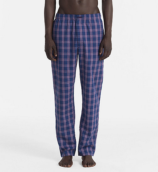 CALVINKLEIN PJ Pants - PLAID 2 ESTATE BLUE - CALVIN KLEIN UNDERWEAR - main image