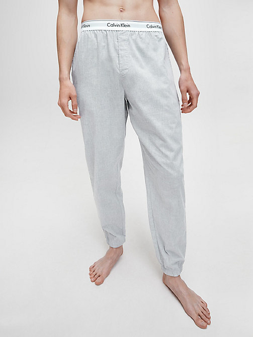 CALVINKLEIN Jogging Pants - Modern Cotton - HEATHER GREY - CALVIN KLEIN LOUNGE PANTS - main image