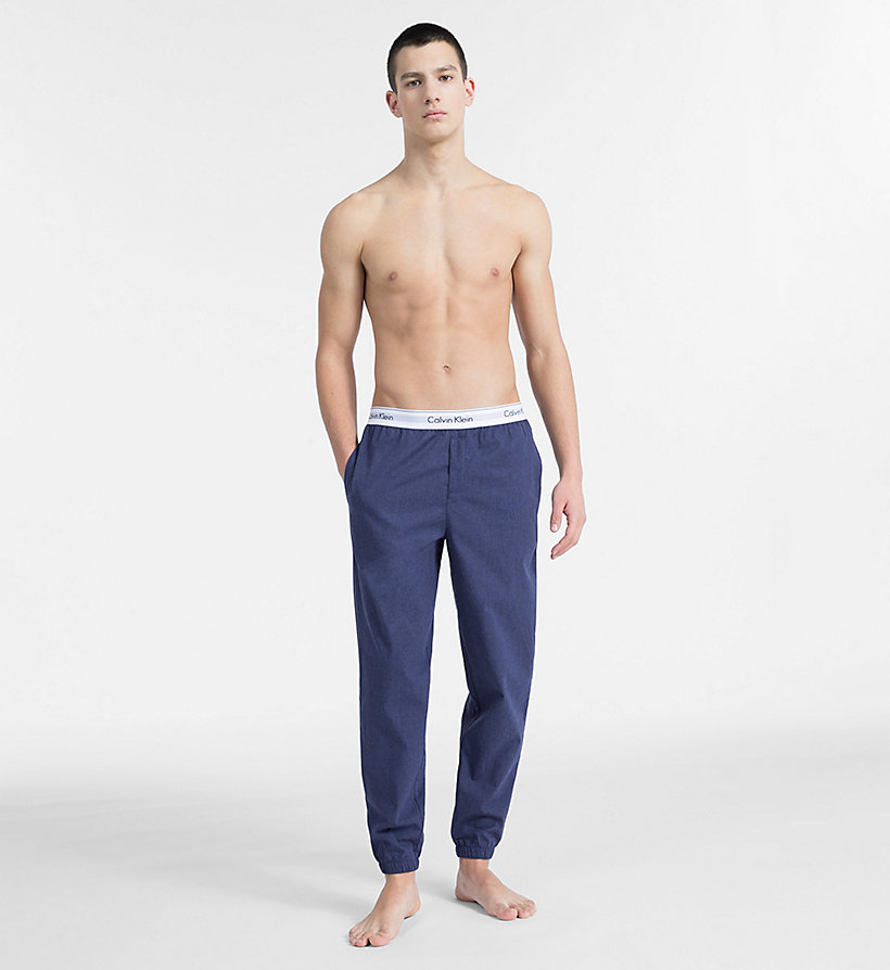 CALVIN KLEIN Pantalon de jogging - Modern Cotton - HUNTSMAN HEATHER - CALVIN KLEIN SOUS-VÊTEMENTS - image détaillée 3