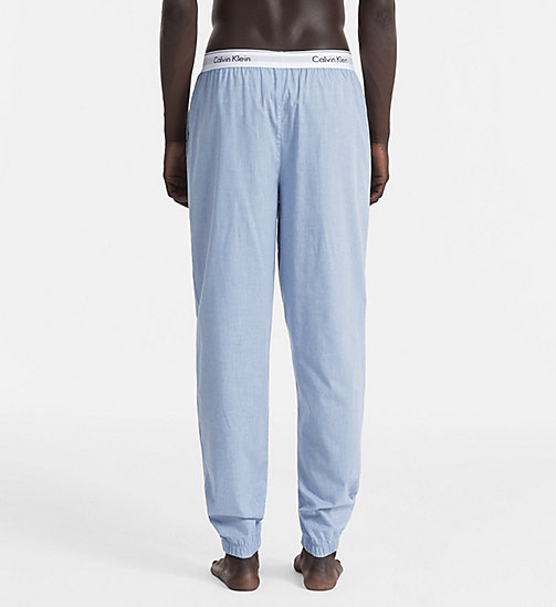 CALVINKLEIN Sweatpants - Modern Cotton - CHAMBRAY HEATHER - CALVIN KLEIN PYJAMA BOTTOMS - detail image 1