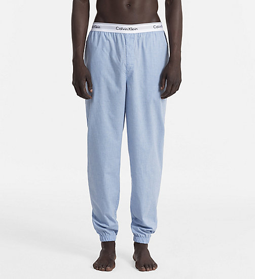 CALVINKLEIN Jogging Pants - Modern Cotton - CHAMBRAY HEATHER - CALVIN KLEIN LOUNGE PANTS - main image