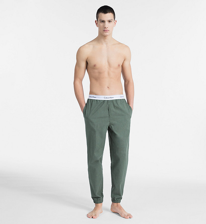 CALVINKLEIN Joggers - Modern Cotton - HEATHER GREY - CALVIN KLEIN UNDERWEAR - detail image 3