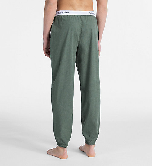 CALVIN KLEIN Joggers - Modern Cotton - HUNTSMAN HEATHER - CALVIN KLEIN LOUNGE PANTS - detail image 1