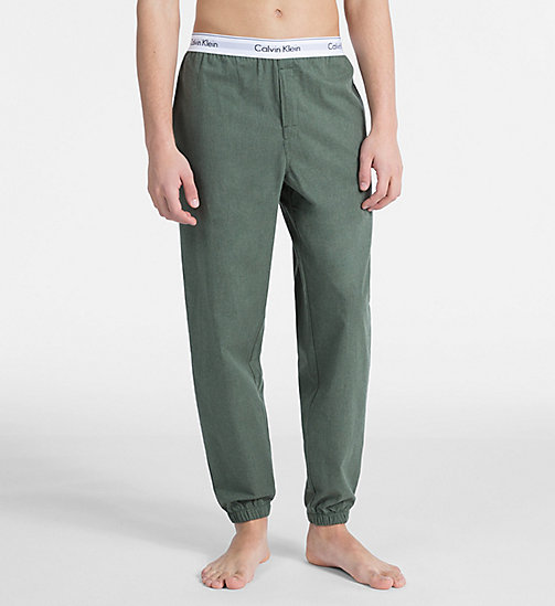 CALVINKLEIN Joggers - Modern Cotton - HUNTSMAN HEATHER - CALVIN KLEIN LOUNGE PANTS - main image