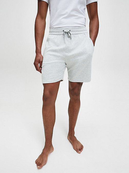 CALVINKLEIN PJ Shorts - GREY HEATHER - CALVIN KLEIN LOUNGE PANTS - main image