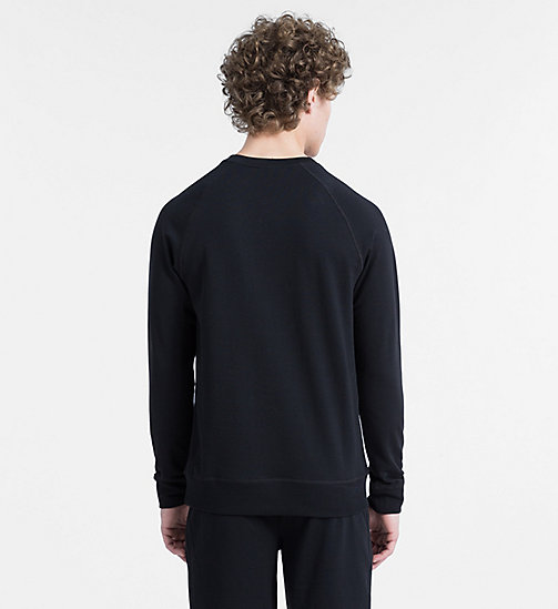CALVINKLEIN Sweatshirt - Monogram - BLACK - CALVIN KLEIN MONOGRAM FOR HIM - main image 1