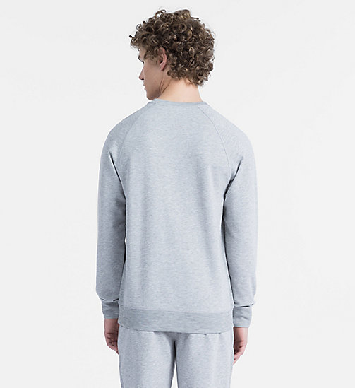 CALVINKLEIN Sweatshirt - Monogram - GREY HEATHER - CALVIN KLEIN MONOGRAM FOR HIM - detail image 1