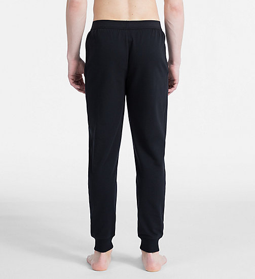 CALVIN KLEIN Joggers - Monogram - BLACK - CALVIN KLEIN MONOGRAM FOR HIM - detail image 1