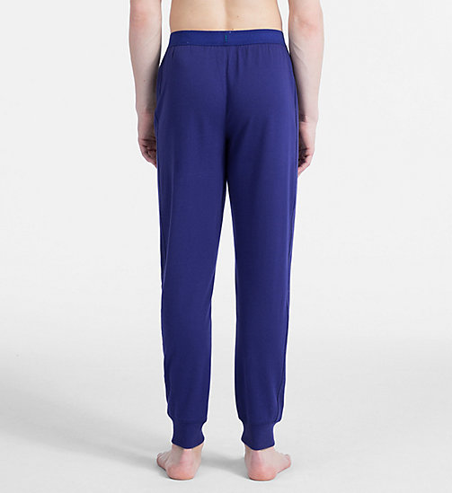 CALVIN KLEIN Тренировочные штаны - Monogram - SHILO BLUE - CALVIN KLEIN MONOGRAM FOR HIM - подробное изображение 1