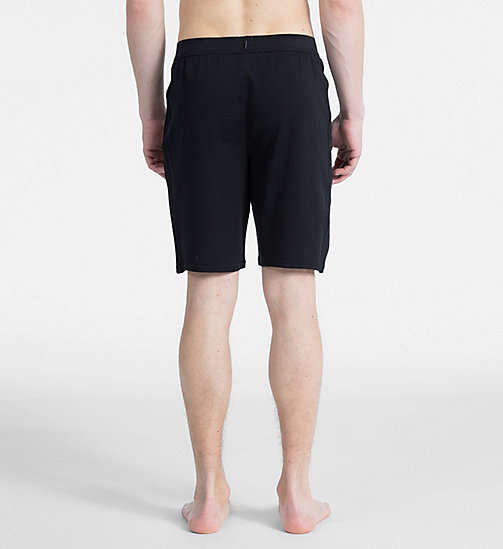 CALVIN KLEIN Pyjama-Shorts - Monogram - BLACK - CALVIN KLEIN MONOGRAM FOR HIM - main image 1