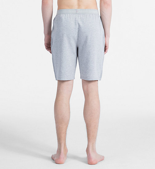 CALVIN KLEIN Short de pyjama - Monogram - GREY HEATHER - CALVIN KLEIN MONOGRAM FOR HIM - image détaillée 1