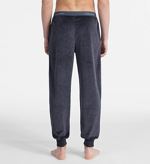 CALVIN KLEIN Joggers - Modern Cotton - WASHED BLACK - CALVIN KLEIN LOUNGE PANTS - detail image 1