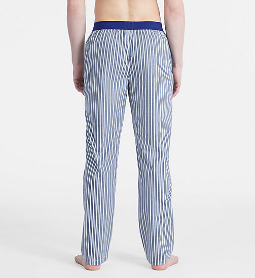 CALVINKLEIN PJ Pants - Monogram - CLASSICAL STRIPE NAVY - CALVIN KLEIN NEW FOR MEN - detail image 1