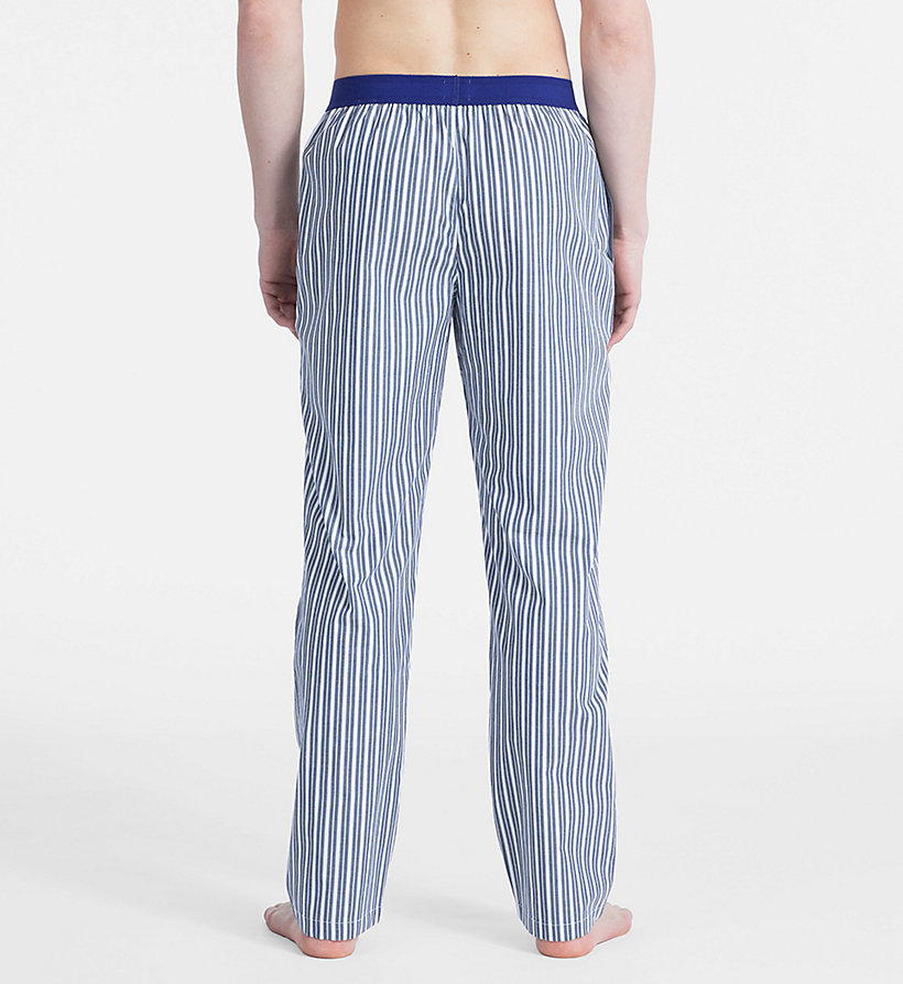 CALVINKLEIN PJ Pants - Monogram - CAMPUS PLAID NAVY - CALVIN KLEIN MEN - detail image 1