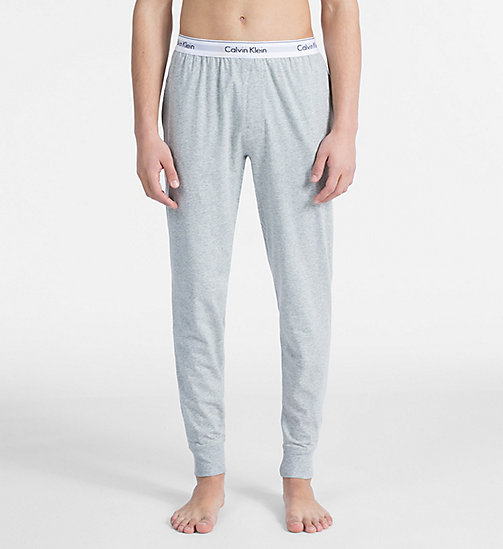 CALVINKLEIN Joggers - Modern Cotton - GREY HEATHER - CALVIN KLEIN NEW FOR MEN - main image