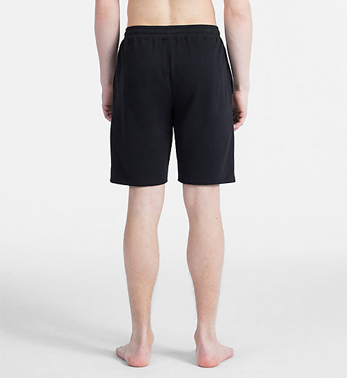 CALVINKLEIN PJ Shorts - Bold Accents - BLACK - CALVIN KLEIN ALL GIFTS - detail image 1