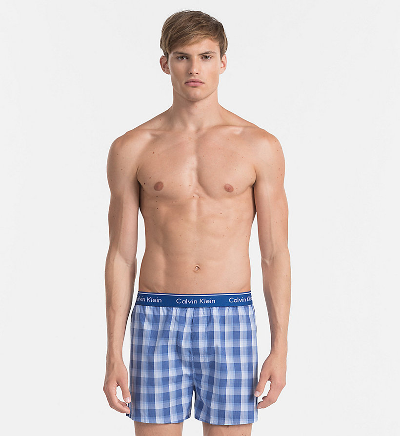 2 pack woven boxers calvin klein 000nu1725akgw. Black Bedroom Furniture Sets. Home Design Ideas