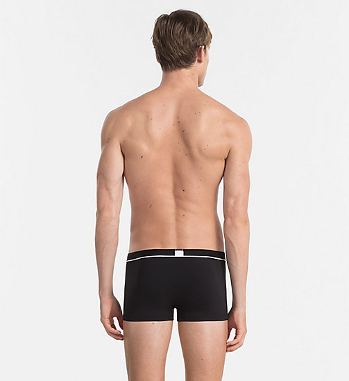 CALVINKLEIN Low Rise Trunks - Calvin Klein ID - BLACK - CALVIN KLEIN TRUNKS - detail image 1