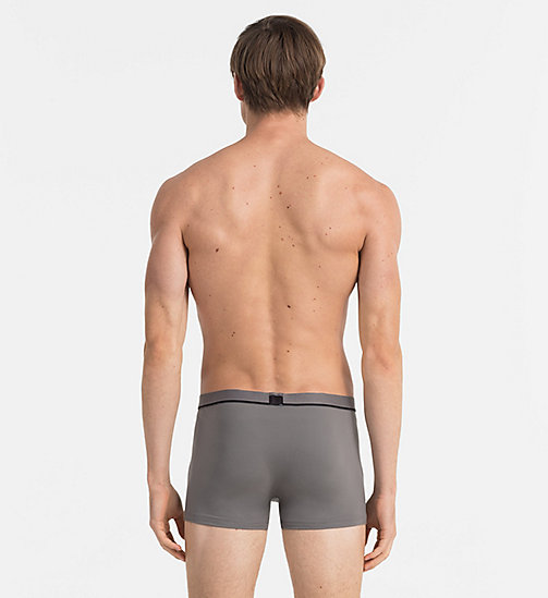 CALVINKLEIN Low Rise Trunks - Calvin Klein ID - GREY SKY - CALVIN KLEIN TRUNKS - detail image 1