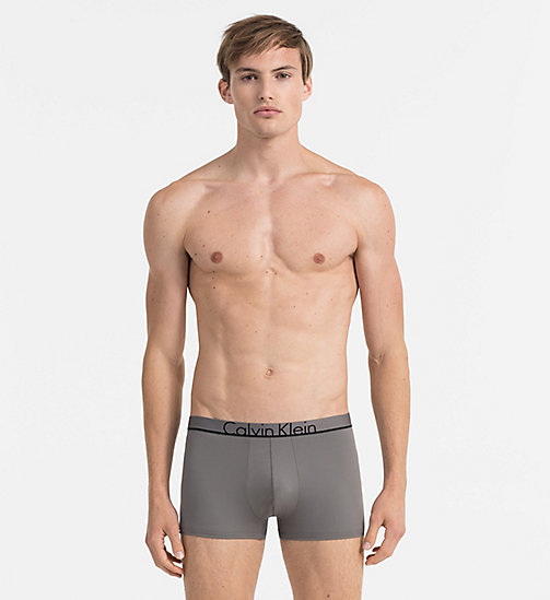 CALVINKLEIN Low Rise Trunks - Calvin Klein ID - GREY SKY - CALVIN KLEIN TRUNKS - main image