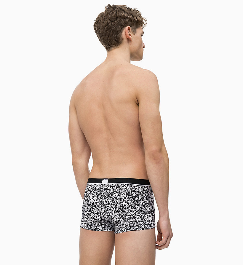 CALVIN KLEIN Low Rise Trunks - Calvin Klein ID - MULTI DOT STRIPE MANIC RED - CALVIN KLEIN UNDERWEAR - detail image 1
