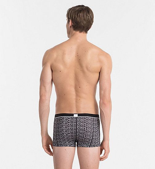 CALVINKLEIN Low Rise Trunks - Calvin Klein ID - DRIFT LOGO PRINT BLACK - CALVIN KLEIN NEW IN - detail image 1