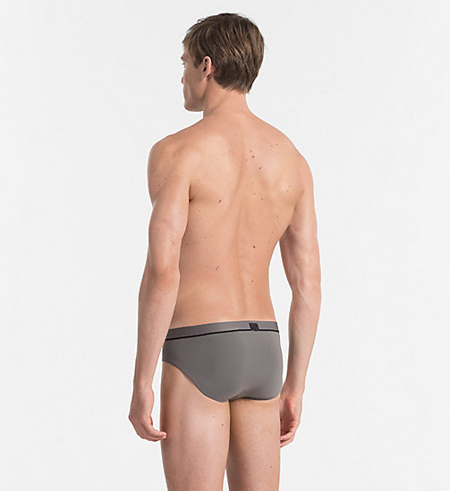 CALVINKLEIN Hip Briefs - Calvin Klein ID - GREY SKY -  BRIEFS - detail image 1