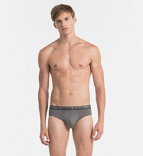 CALVINKLEIN Hip Briefs - Calvin Klein ID - GREY SKY -  BRIEFS - main image