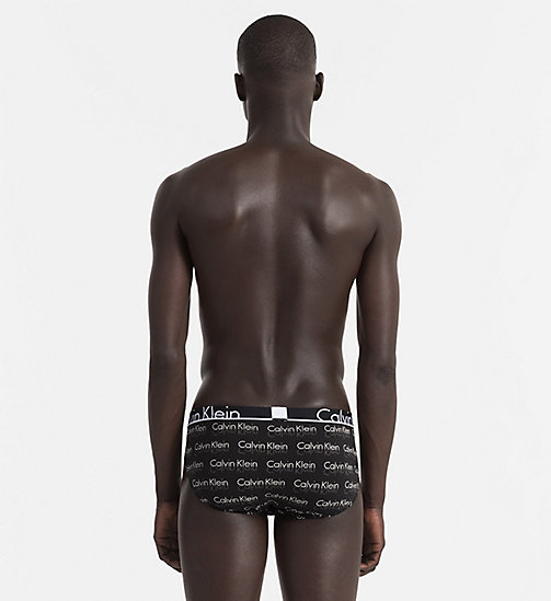 CALVINKLEIN Hip Briefs - Calvin Klein ID - REFLECT LOGO BLACK - CALVIN KLEIN BRIEFS - detail image 1