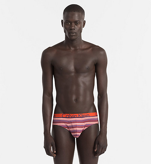 CALVINKLEIN Hip Briefs - Calvin Klein ID - PIANO STRIPE SUMMER BLUE - CALVIN KLEIN NEW IN - main image