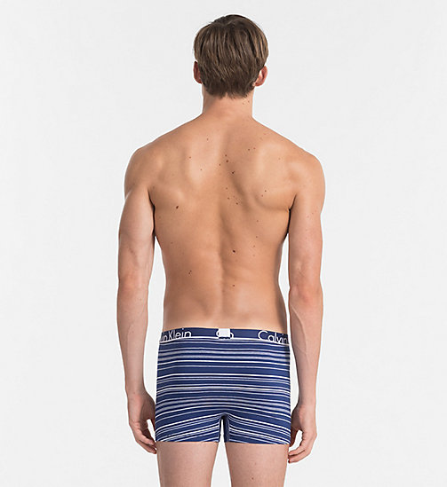 CALVINKLEIN Trunks - Calvin Klein ID - AM STRIPE ESTATE BLUE - CALVIN KLEIN UNDERWEAR - detail image 1