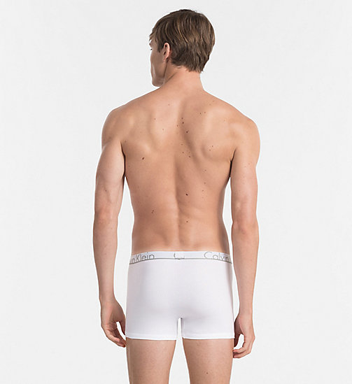 CALVINKLEIN Trunks - Calvin Klein ID - WHITE - CALVIN KLEIN TRUNKS - detail image 1