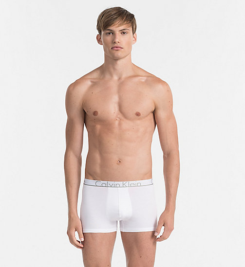 CALVINKLEIN Trunks - Calvin Klein ID - WHITE - CALVIN KLEIN TRUNKS - main image