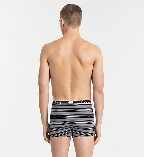 CALVINKLEIN Trunks - Calvin Klein ID - BEAM STRIPE PRINT BLACK - CALVIN KLEIN TRUNKS - detail image 1