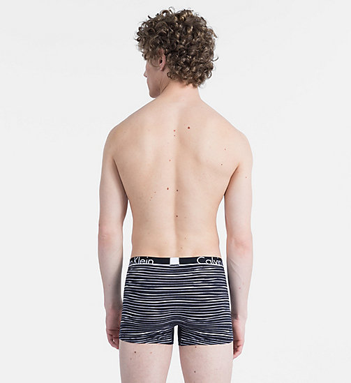 CALVIN KLEIN Trunk - Calvin Klein ID - RUSH STRIPE BLACK - CALVIN KLEIN NEW FOR MEN - detail image 1
