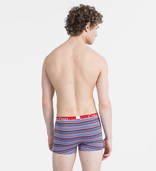 CALVINKLEIN Trunks - Calvin Klein ID - BASE STRIPE MANIC RED - CALVIN KLEIN NEW IN - detail image 1