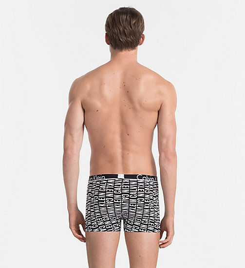 CALVINKLEIN Trunks - Calvin Klein ID - REVERSED LOGO PRINT BLACK - CALVIN KLEIN TRUNKS - detail image 1