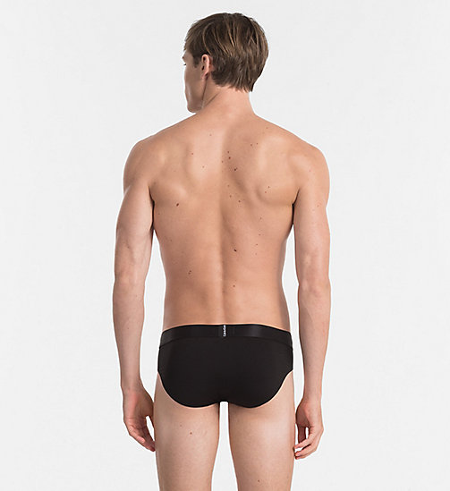 CALVINKLEIN Hip Briefs - Tech Fusion - BLACK - CALVIN KLEIN BRIEFS - detail image 1