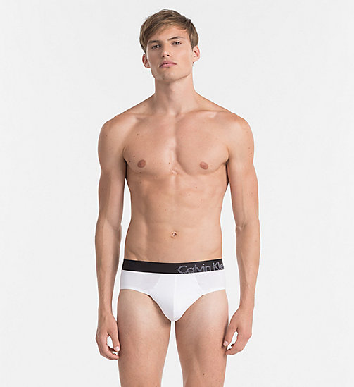 CALVINKLEIN Hip Briefs - Tech Fusion - WHITE - CALVIN KLEIN BRIEFS - main image