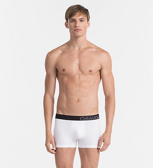CALVINKLEIN Trunks - Tech Fusion - WHITE - CALVIN KLEIN UNDERWEAR - main image