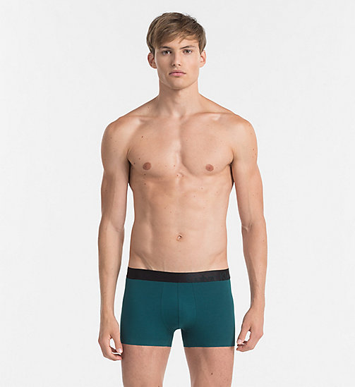 CALVINKLEIN Trunks - Tech Fusion - DEEP TEAL - CALVIN KLEIN UNDERWEAR - main image