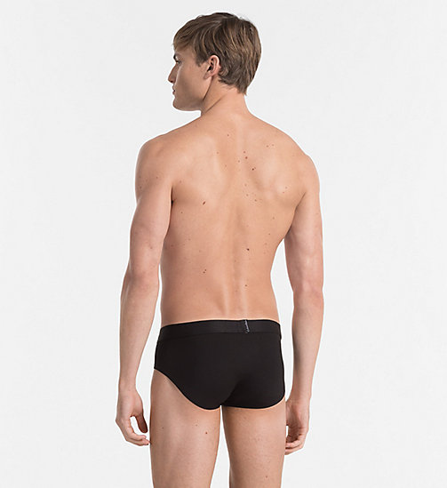 CALVIN KLEIN Hip Briefs - Edge - BLACK - CALVIN KLEIN BRIEFS - detail image 1