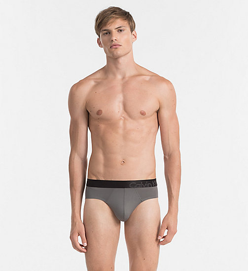 CALVINKLEIN Hip Briefs - Edge - GREY SKY -  BRIEFS - main image