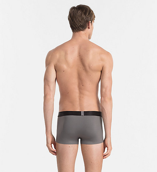 CALVIN KLEIN Low Rise Trunks - Edge - GREY SKY - CALVIN KLEIN UNDERWEAR - detail image 1
